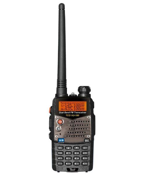 TCO VU-180 PLUS 加強版 VHF/UHF 雙頻無線電對講機 VU180