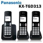 Panasonic國際牌 KX-TGD313 數位無線電話 免持聽筒 中文顯示 長效電池 全新公司貨