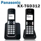 (贈計步器+電容筆) Panasonic 國際牌 KX-TGD312 數位無線電話 勿擾模式 1.8吋螢幕 【公司貨】