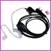 DUALPOWER 無線電對講機 耳機麥克風【矽膠空氣導管型】